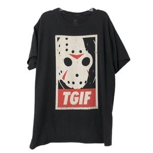 TGIF Jason Vorhees Halloween Horror Tee Shirt